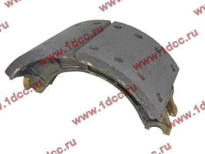 Колодка тормозная задняя с накладками H2/H3 HOWO (ХОВО) WG199000340061 фото 1 Владимир