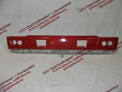 Бампер H красный самосвал металлический HOWO (ХОВО) WG1641240001 фото 1 Владимир