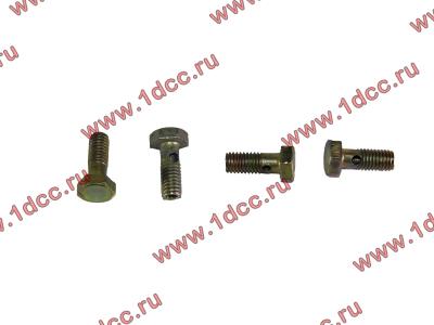 Болт пустотелый M6 обратки с форсунок H2 HOWO (ХОВО) VG1500080090 фото 1 Владимир