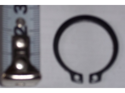 Кольцо стопорное замковое шестерни полуоси H HOWO (ХОВО) 190003933351 фото 1 Владимир