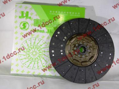 Диск сцепления ведомый 420 мм H2/H3 HOWO (ХОВО) WG1560161130 фото 1 Владимир