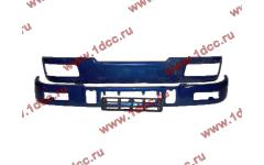Бампер C синий верхний+нижний (в сборе) фото Владимир