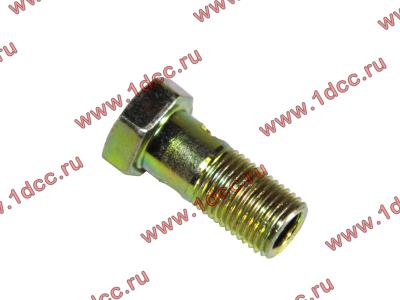 Болт пустотелый М10х1,0 (штуцер топливный) H HOWO (ХОВО) 81500070054 фото 1 Владимир