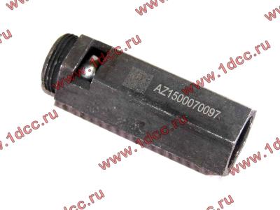 Клапан предохранительный главной масляной магистрали двигателя H HOWO (ХОВО) VG1500070097 фото 1 Владимир
