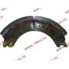 Колодка тормозная задняя с накладками H2/H3 HOWO (ХОВО) WG199000340061 фото 4 Владимир