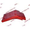 Брызговик передней оси правый H2 красный HOWO (ХОВО) WG1642230004 фото 4 Владимир